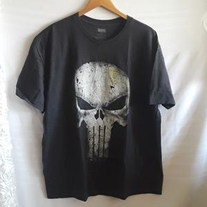 Marvel Comic Punisher Men's T Shirt 2X